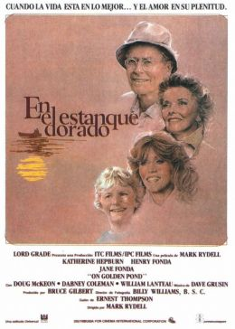 """Постер к фильму """"На золотом пруду"""" /On Golden Pond/ (1981)"""