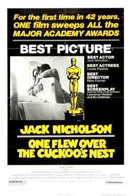 """Постер к фильму """"Пролетая над гнездом кукушки"""" /One Flew Over the Cuckoo's Nest/ (1975)"""
