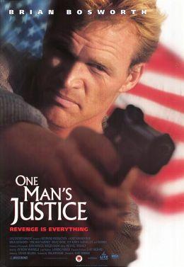 """Постер к фильму """"Этакий крутой ублюдок"""" /One Tough Bastard/ (1996)"""