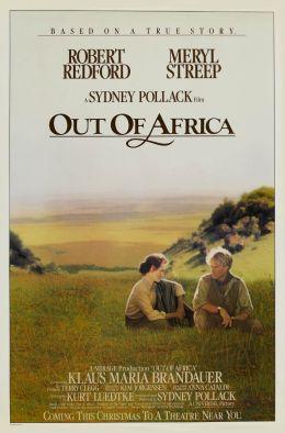 """Постер к фильму """"Из Африки"""" /Out of Africa/ (1985)"""