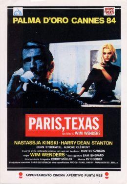"""Постер к фильму """"Париж, Техас"""" /Paris, Texas/ (1984)"""