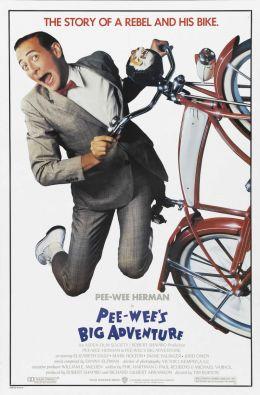 """Постер к фильму """"Большое приключение Пи-Ви"""" /Pee-wee's Big Adventure/ (1985)"""