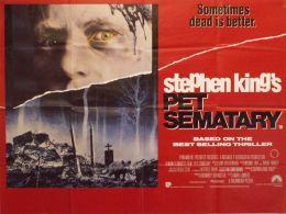 """Постер к фильму """"Кладбище домашних животных"""" /Pet Sematary/ (1989)"""