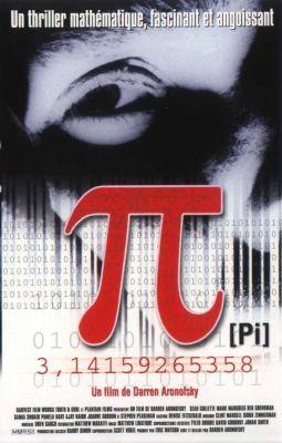 """Постер к фильму """"Пи"""" /Pi/ (1998)"""