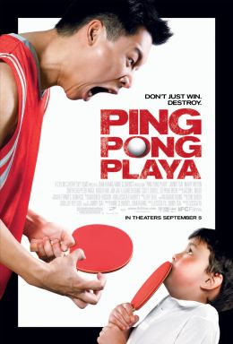"""Постер к фильму """"Игрок пинг-понга"""" /Ping Pong Playa/ (2007)"""