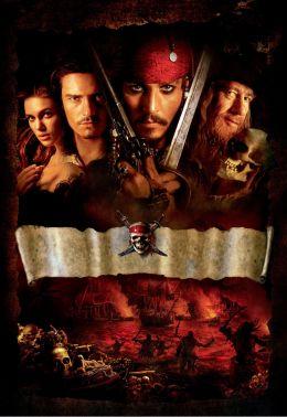 """Постер к фильму """"Пираты Карибского моря: Проклятие Черной жемчужины"""" /Pirates of the Caribbean: The Curse of the Black Pearl/ (2003)"""