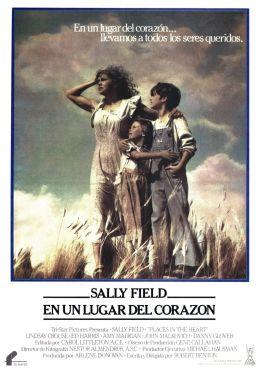 """Постер к фильму """"Место в сердце"""" /Places in the Heart/ (1984)"""