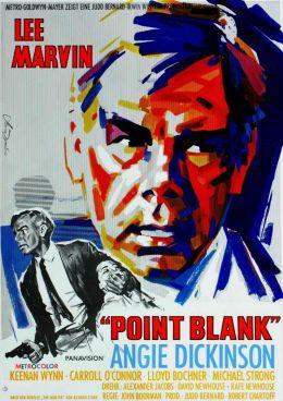 """Постер к фильму """"В упор"""" /Point Blank/ (1967)"""