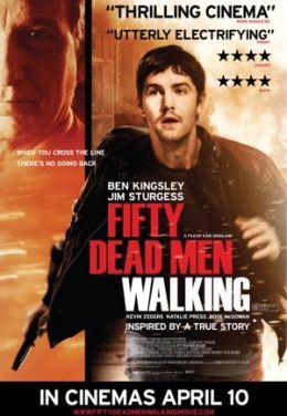 """Постер к фильму """"Пятьдесят ходячих трупов"""" /Fifty Dead Men Walking/ (2008)"""