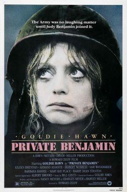 """Постер к фильму """"Рядовой Бенджамин"""" /Private Benjamin/ (1980)"""