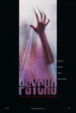 """Постер к фильму """"Психо"""" /Psycho/ (1998)"""