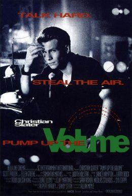 """Постер к фильму """"Сделай погромче"""" /Pump Up the Volume/ (1990)"""