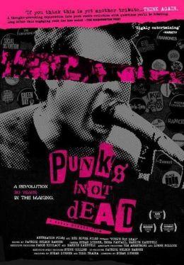 """Постер к фильму """"Панк-рок жив"""" /Punk's Not Dead/ (2007)"""