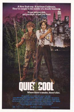 """Постер к фильму """"Тихая прохлада"""" /Quiet Cool/ (1986)"""