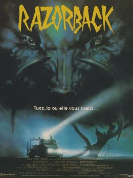 """Постер к фильму """"Кабан-секач"""" /Razorback/ (1984)"""