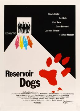 """Постер к фильму """"Бешеные псы"""" /Reservoir Dogs/ (1992)"""