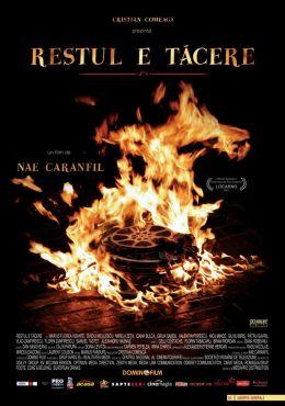 """Постер к фильму """"Дальше – тишина"""" /Restul e tacere/ (2007)"""