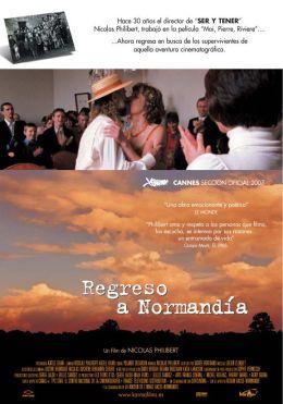 """Постер к фильму """"Возвращение в Нормандию"""" /Retour en Normandie/ (2007)"""