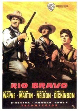 """Постер к фильму """"Рио Браво"""" /Rio Bravo/ (1959)"""