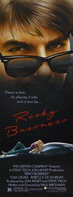 """Постер к фильму """"Рискованный бизнес"""" /Risky Business/ (1983)"""