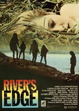 """Постер к фильму """"На берегу реки"""" /River's Edge/ (1986)"""