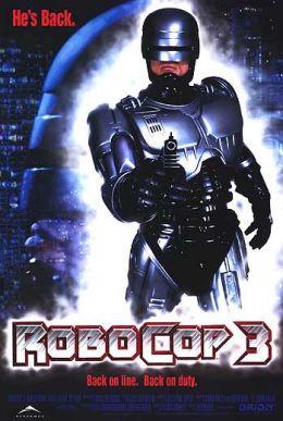 """Постер к фильму """"Робокоп 3"""" /RoboCop 3/ (1993)"""