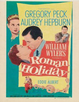 """Постер к фильму """"Римские каникулы"""" /Roman Holiday/ (1953)"""