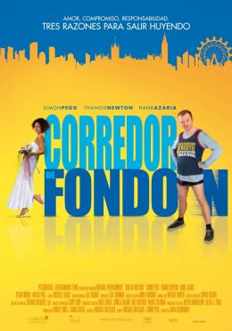 """Постер к фильму """"Беги, толстяк, беги"""" /Run Fatboy Run/ (2007)"""