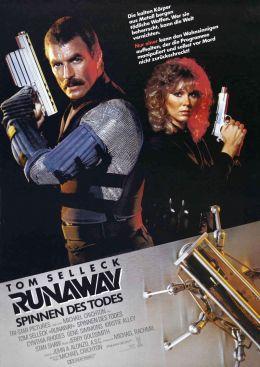 """Постер к фильму """"Охота на роботов"""" /Runaway/ (1984)"""