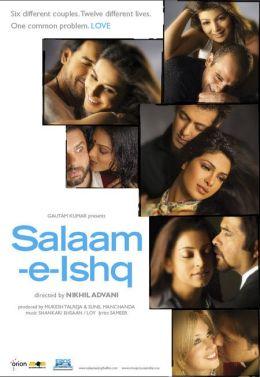 """Постер к фильму """"Здравствуй, любовь"""" /Salaam-E-Ishq/ (2007)"""