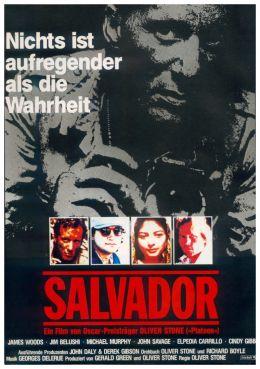 """Постер к фильму """"Сальвадор"""" /Salvador/ (1986)"""