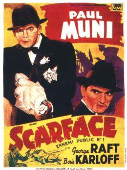 "Постер к фильму ""Лицо со шрамом"" /Scarface/ (1932)"