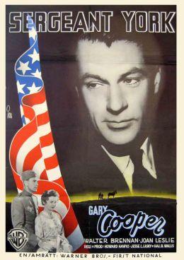 """Постер к фильму """"Сержант Йорк"""" /Sergeant York/ (1941)"""