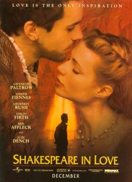 "Постер к фильму ""Влюбленный Шекспир"" /Shakespeare in Love/ (1998)"