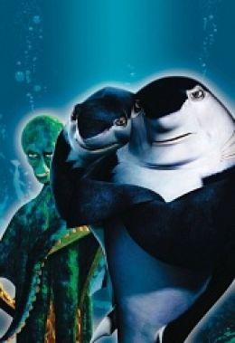 """Постер к фильму """"Подводная братва"""" /Shark Tale/ (2004)"""