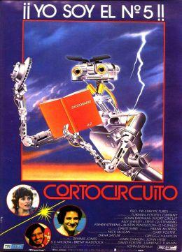 """Постер к фильму """"Короткое замыкание"""" /Short Circuit/ (1986)"""