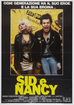 "Постер к фильму ""Сид и Нэнси"" /Sid and Nancy/ (1986)"