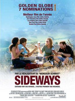 "Постер к фильму ""На обочине"" /Sideways/ (2004)"
