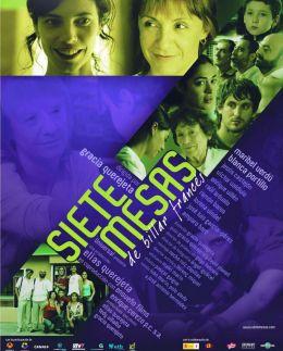 """Постер к фильму """"Семь бильярдных столов"""" /Siete mesas de billar frances/ (2007)"""