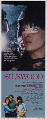 """Постер к фильму """"Силквуд"""" /Silkwood/ (1983)"""