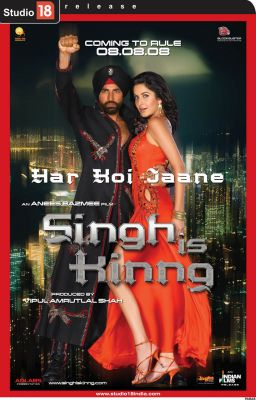 "Постер к фильму ""Король Сингх"" /Singh Is Kinng/ (2008)"