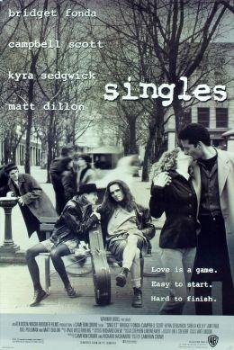 """Постер к фильму """"Одиночки"""" /Singles/ (1992)"""