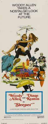 """Постер к фильму """"Спящий"""" /Sleeper/ (1973)"""