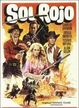 """Постер к фильму """"Красное солнце"""" /Soleil rouge/ (1971)"""