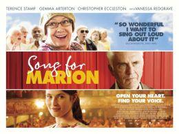 """Постер к фильму """"Песня для Марион"""" /Song for Marion/ (2012)"""