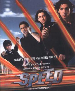 """Постер к фильму """"На одном дыхании"""" /Speed/ (2007)"""