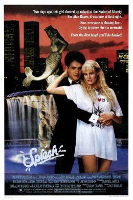 """Постер к фильму """"Всплеск"""" /Splash/ (1984)"""
