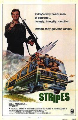 """Постер к фильму """"Добровольцы поневоле"""" /Stripes/ (1981)"""