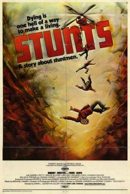 """Постер к фильму """"Каскадеры"""" /Stunts/ (1977)"""