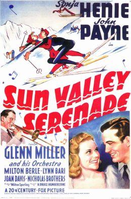 """Постер к фильму """"Серенада Солнечной долины"""" /Sun Valley Serenade/ (1941)"""